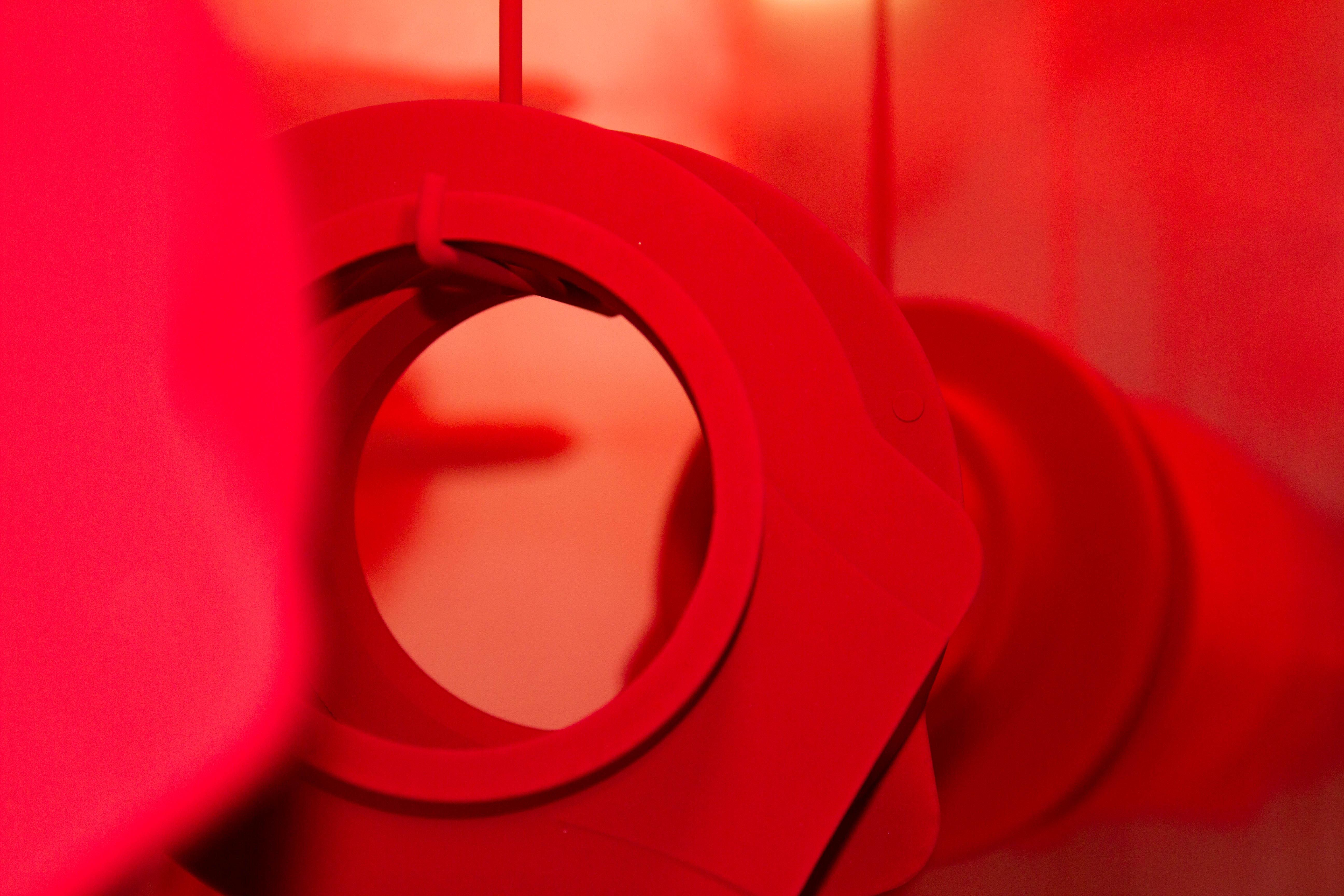 Peinture poudrage électrostatique rouge